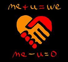 Me Minus You Equals Zero by Ron Marton