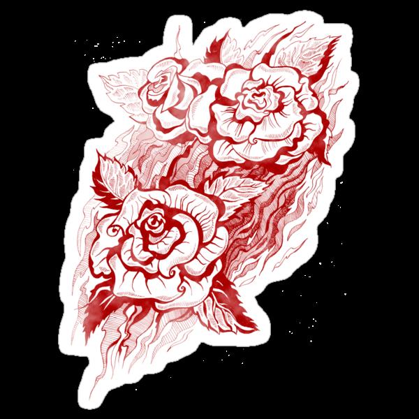 Roses by Svetlana Mikhalevich