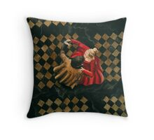 Pick a Partner who Knows what he's Doing Throw Pillow