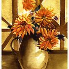 Flower and vase by Anil Nene