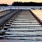 Pier in Espoo by elaintahra