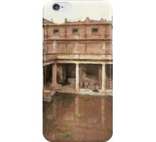 Roman Baths and Abbey, Bath, England iPhone Case/Skin