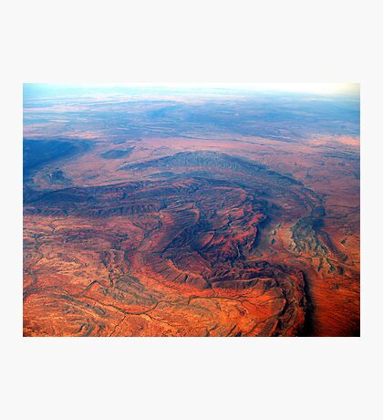 Outback Australia - Red, Rugged and Unforgiving (1) Photographic Print