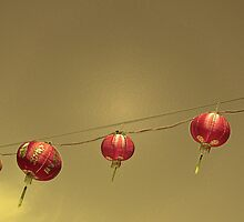 Chinese lanterns by Stacey Pritchard