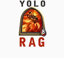 Yolo Rag Mens V-Neck T-Shirt
