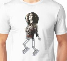 Robot Lady Unisex T-Shirt