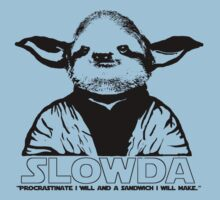 "S L O W D A ""Procrastinate I will and a sandwich I will make.."" Kids Clothes"