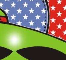alien rad Sticker