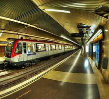 Metro Barcelona by heavenideas