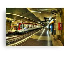 Metro Barcelona Canvas Print