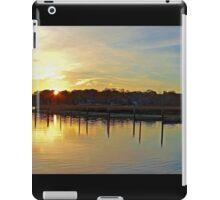 Sunrise at the Marina iPad Case/Skin