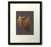 Be like a noble knight: wear a t-shirt Framed Print