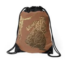 Be like a noble knight: wear a t-shirt Drawstring Bag