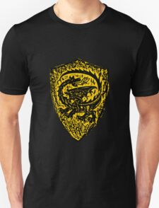 Shield up! Fear not, Medieval dragon shield t-shirt.  T-Shirt