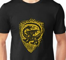 Shield up! Fear not, Medieval dragon shield t-shirt.  Unisex T-Shirt