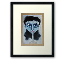 Miss Understood Framed Print