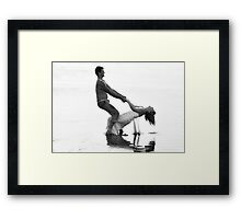 Trust the Power of the Heart Framed Print
