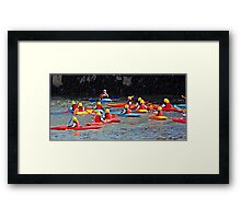 """"""" Away from the Computer"""" Framed Print"""