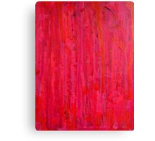 Abstract on wood 4 Canvas Print