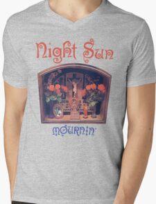 Night Sun Mournin' Shirt! Mens V-Neck T-Shirt
