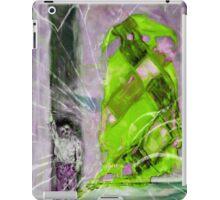 Shadow Series #2: Lost Shadow (Green/Purple) iPad Case/Skin