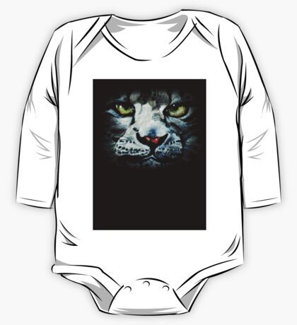 Snow Tiger One Piece - Long Sleeve