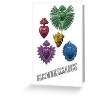 RECONNAISSANCE (color) Greeting Card