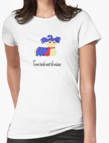 Come inside meet the missus Womens Fitted T-Shirt
