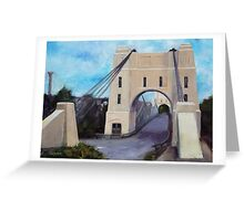 Walter Taylor Bridge, Indooroopilly Greeting Card