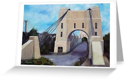 Walter Taylor Bridge, Indooroopilly by Anny Arden