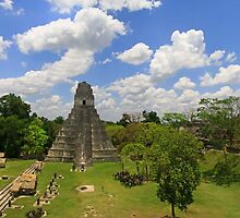 Temple of the Grand Jaguar , Tikal by gruntpig