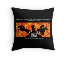 Davy's Angels Throw Pillow