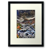 The Gap- kerry Framed Print