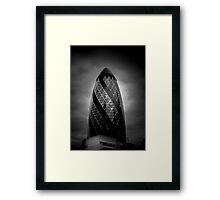 Launchpad @londonlights Framed Print