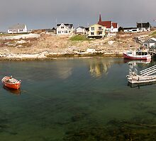Peggy's Cove panoramic view, Canada by alopezc72