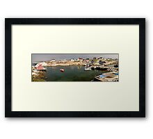 Peggy's Cove panoramic view, Canada Framed Print