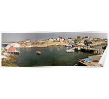 Peggy's Cove panoramic view, Canada Poster