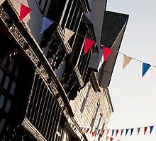 Duke Street, Dartmouth by Kerry Dunstone