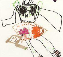 Alejandro's Artwork at age 5 by ArtByMia
