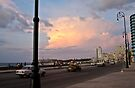 Malecon's sunset by Nayko