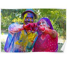 Holi-The Festival of Colors and Joy Poster