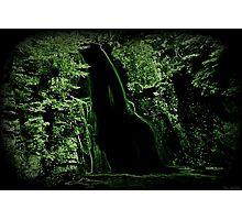Breaking Through Black Falls Photographic Print