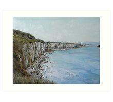 Northern Ireland Shoreline Art Print