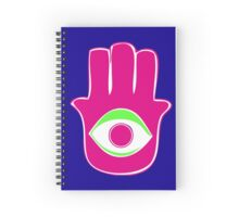 Hamsa for blessings, power and strength  Spiral Notebook
