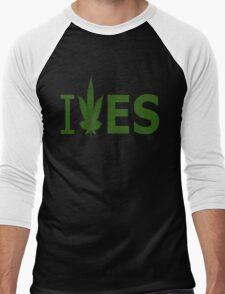 I Love ES Men's Baseball ¾ T-Shirt