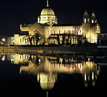 Galway Cathedral Night shot by Mark  Attwooll