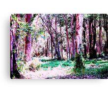 wonderland pink Canvas Print