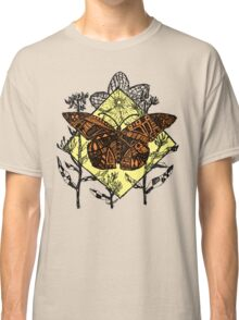 Monarch Butterfly Sketch - Color Classic T-Shirt