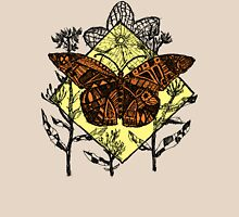 Monarch Butterfly Sketch - Color Unisex T-Shirt