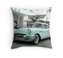 What year is it, 2010 or 1955? Throw Pillow